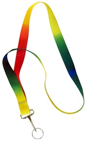 Making Friends Rainbow Lanyard