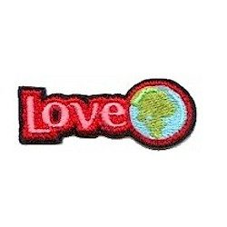 Girl Scout Love the Earth Fun Patch