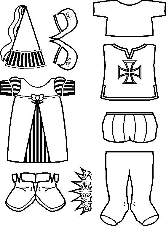 Kleurplaten Van Ridders En Jonkvrouwen.Kleurplaat Ridders En Jonkvrouwen Ritter Malvorlagen