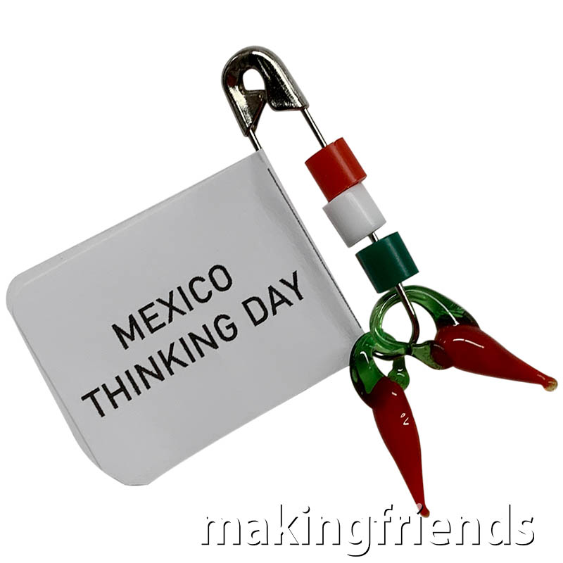 Girl Scout Thinking Day Mexico Chili Friendship Swap via @gsleader411