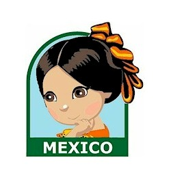 Girl Scout Mexico Fun Patch