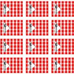 SWAP Tablecloth Pattern