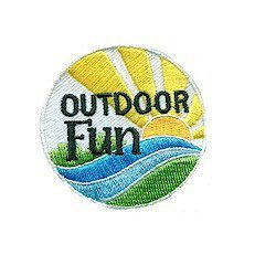 Girl Scout Outdoor Fun Patch