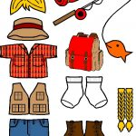Outdoor Paper Doll Friends in color