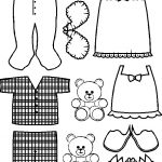 Pajama Paper Doll Friends