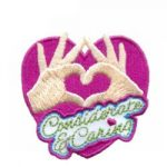 Considerate and Caring Girl Scout Patch