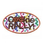 Cookie Rally Girl Scout Fun Patch