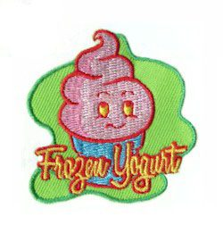 Girl Scout Frozen Yogurt Fun Patch