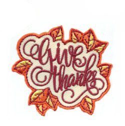 Give Thanks Fun Patch