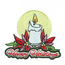 Girl Scout Happy Holidays Fun Pathc