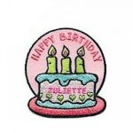 Happy Birthday Juliette Low Fun Patch