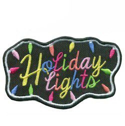 Holiday Lights Fun Patch