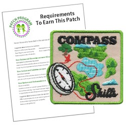 Compass Skill Fun Patch