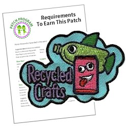 Recycled Crafts Patch Program