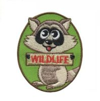 Wildlife Girl Scout Fun Patch