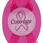 Pink Ribbon Magnet Craft