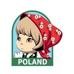 Girl Scout Poland Fun Patch
