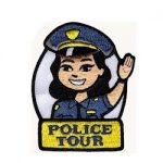 Police Tour Patch — Woman