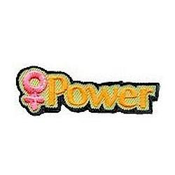 Girl Scout Girl Power Fun Patch