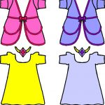 Princess Paper Doll Friends