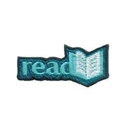 Girl Scout Read Books Fun Patch