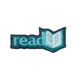 Girl Scout Read Books Fun Patch