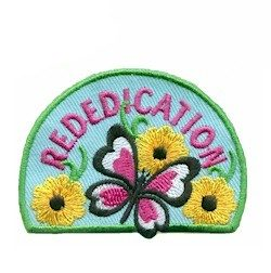 Rededication Girl Scout Fun Patch
