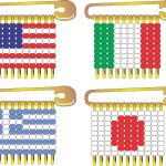 International Flag Pins