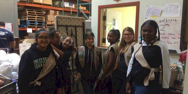 Girl Scout Seniors Community Service