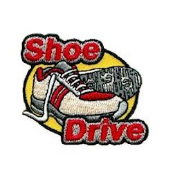 Girl Scout Shoe Drive Fun Patch