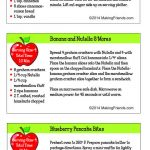 Junior Girl Scout Simple Meals Breakfast Recipes