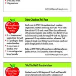 Junior Girl Scout Simple Meals Lunch Recipes