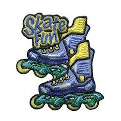 Girl Scout Skate Fun Patch