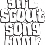 Girl Scout Songbook Cover Sheet