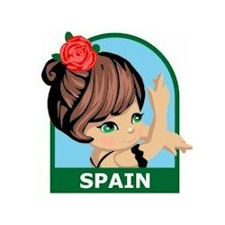 Girl Scout Spain Fun Patch