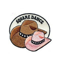Square Dance Patch