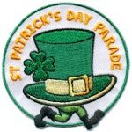 St. Patrick's Day Parade Fun Patch