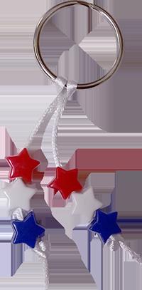 Patriotic Key Ring