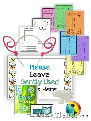Girl Scout Story Badge in a Bag via @gsleader411