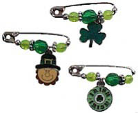 Irish Charm Girl Scout Friendship SWAP Kit via @gsleader411