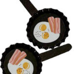 Bacon and Eggs Girl Scout Friendship SWAP Kit