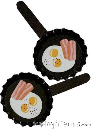 Bacon and Eggs Girl Scout Friendship SWAP Kit via @gsleader411