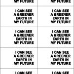Greener Earth SWAP tag