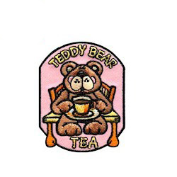 Teddy Bear Tea Patch