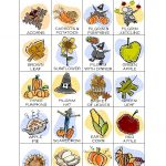 Thanksgiving Bingo Calling Card