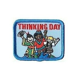 Girl Scout Thinking Day Fun Patch