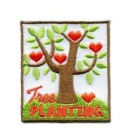 Girl Scout Tree Planting Fun Patch
