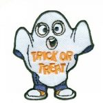 Girl Scout Trick or Treat Fun Patch
