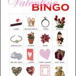 Valentine Bingo Card 10
