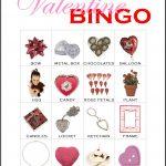 Valentine Bingo Card 11